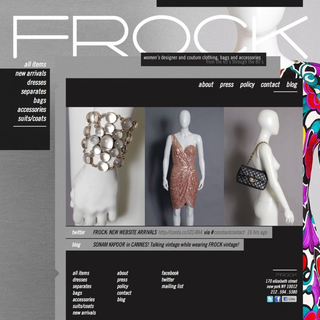 Version Industries - Ecommerce Designer / Developer / Setup - FROCK NY