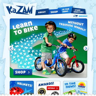 Thought Horse, INC - Ecommerce Designer / Developer / Marketer - http://www.kazambikes.com/