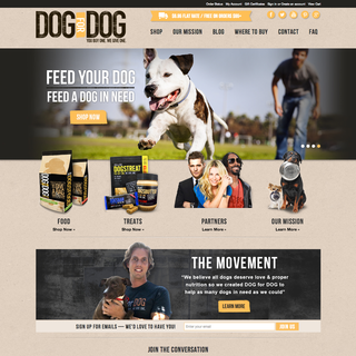 Coalition Technologies - Ecommerce Designer / Developer / Marketer / Setup Expert - Pet food ecommerce website design