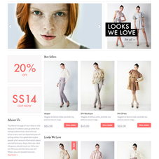 Duke responsive Shopify theme