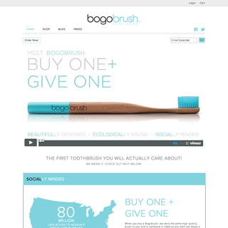 Refresh - Ecommerce Designer / Developer / Setup - bogobrush