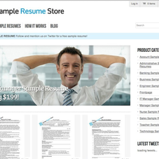 We've helped clients like SampleResumeStore.com achieve more traffic through search using SEO.