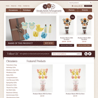 AshWebStudio - Ecommerce Designer / Setup - Customizable lollipops for every occasion