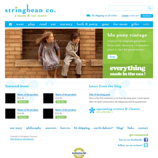 AshWebStudio - Ecommerce Designer / Setup - Kids clothing and accessories