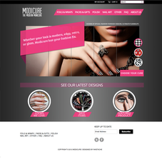 Modicure Homepage
