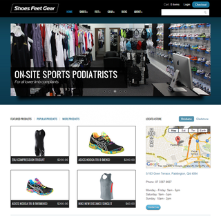 Tongesy - Ecommerce Designer / Marketer - Shoes Feet Gear