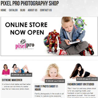 uAfrica Technologies (Pty) Ltd - Ecommerce Developer / Marketer / Setup - Photography Store