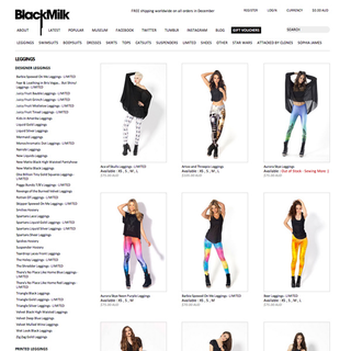 Evulse - Ecommerce Designer / Developer / Setup - Black Milk Clothing - Powered by Shopify