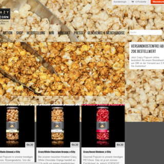 RedBit Development - Ecommerce Designer / Developer / Photographer / Marketer / Setup Expert - Crazy Popcorn Gourmet