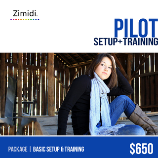 Zimidi, Inc. - Ecommerce Designer / Developer / Setup Expert / Retail Expert - Pilot includes everything you need to start selling on the web, including site setup and training.