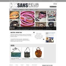 Sans Peur: A high end fashion store