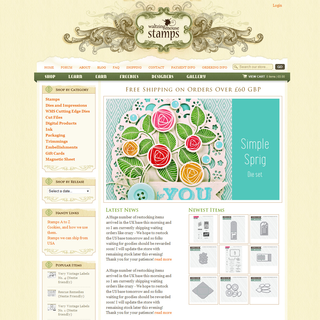 Rawsterne Web Design &amp; Illustration - Ecommerce Designer / Developer / Setup - Waltzing Mouse Stamps