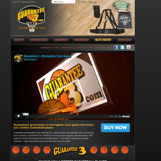 Custom Design For Sports Equipment Site