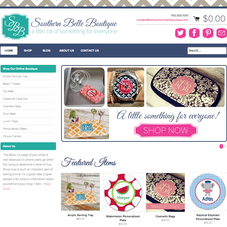 Southern Belle Boutique / Custom Monogram Shop