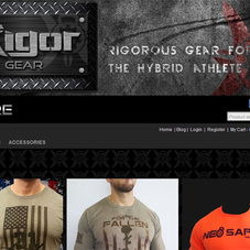 RigorGear.com Online Store