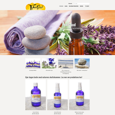 Aromatherapy products made in the south of Norway. Health tips and advice for wellbeing.