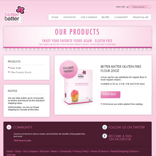 Prime Design Solutions, Inc. - Ecommerce Designer / Setup - shop.betterbatter.org