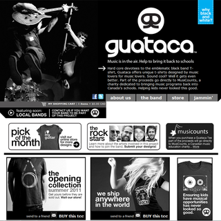 2 Points Media Inc. - Ecommerce Designer - www.Guataca.ca - Helping bring music back to schools