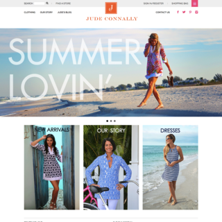 sineLABS - Ecommerce Designer / Developer - Jude Connally storefront custom build