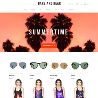 sineLABS - Ecommerce Designer / Developer - Barb and Bear site customizations & enhancements