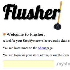 Flusher App