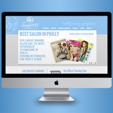 Web Design Sun Myst Tanning Spa