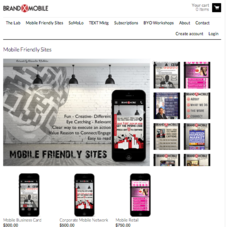Brand X Mobile Product Category Page