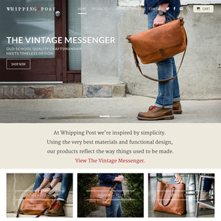 Out of the Sandbox - Ecommerce Designer / Developer - Whipping Post with the Retina Theme