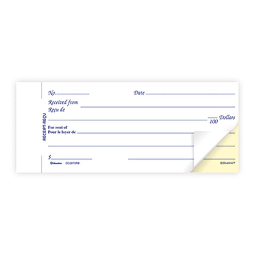 blueline reg duplicates rent receipt book carbonless copy bilingual bluelinereg duplicates rent receipt book carbonless copy bilingual dc2870rb 123inkcartridges