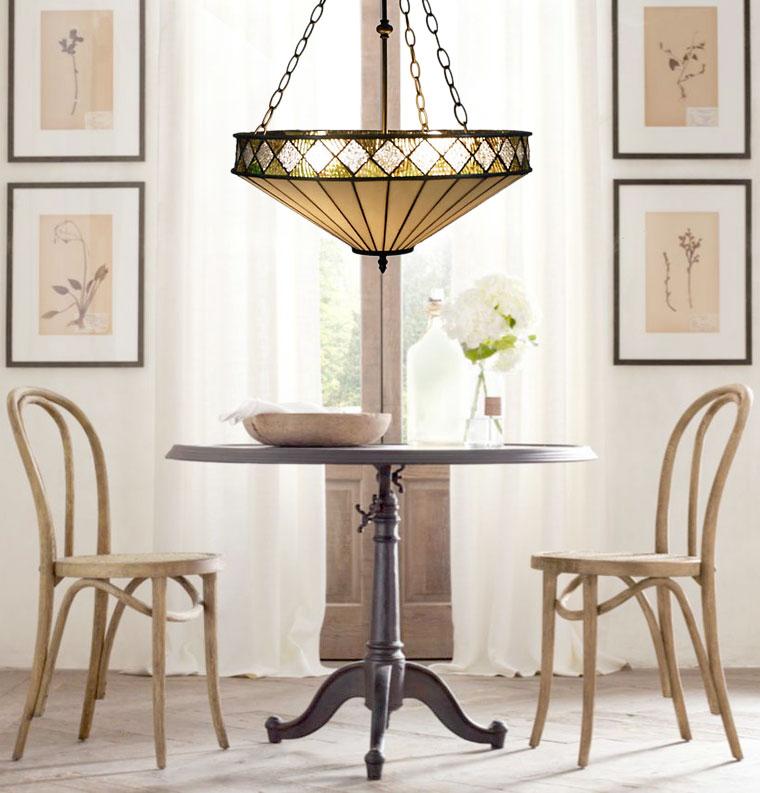 tiffany 2 lights pendant at canada. Black Bedroom Furniture Sets. Home Design Ideas