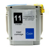HP 11 C4836A Remanufactured Cyan Ink Cartridge (High Yield Version of HP 13 4815A)