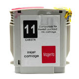HP 11 C4837A Remanufactured Magenta Ink Cartridge (High Yield Version of HP 13 C4816A)