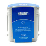 HP 82 (C4911A) New Compatible Cyan Ink Cartridge (High Yield)