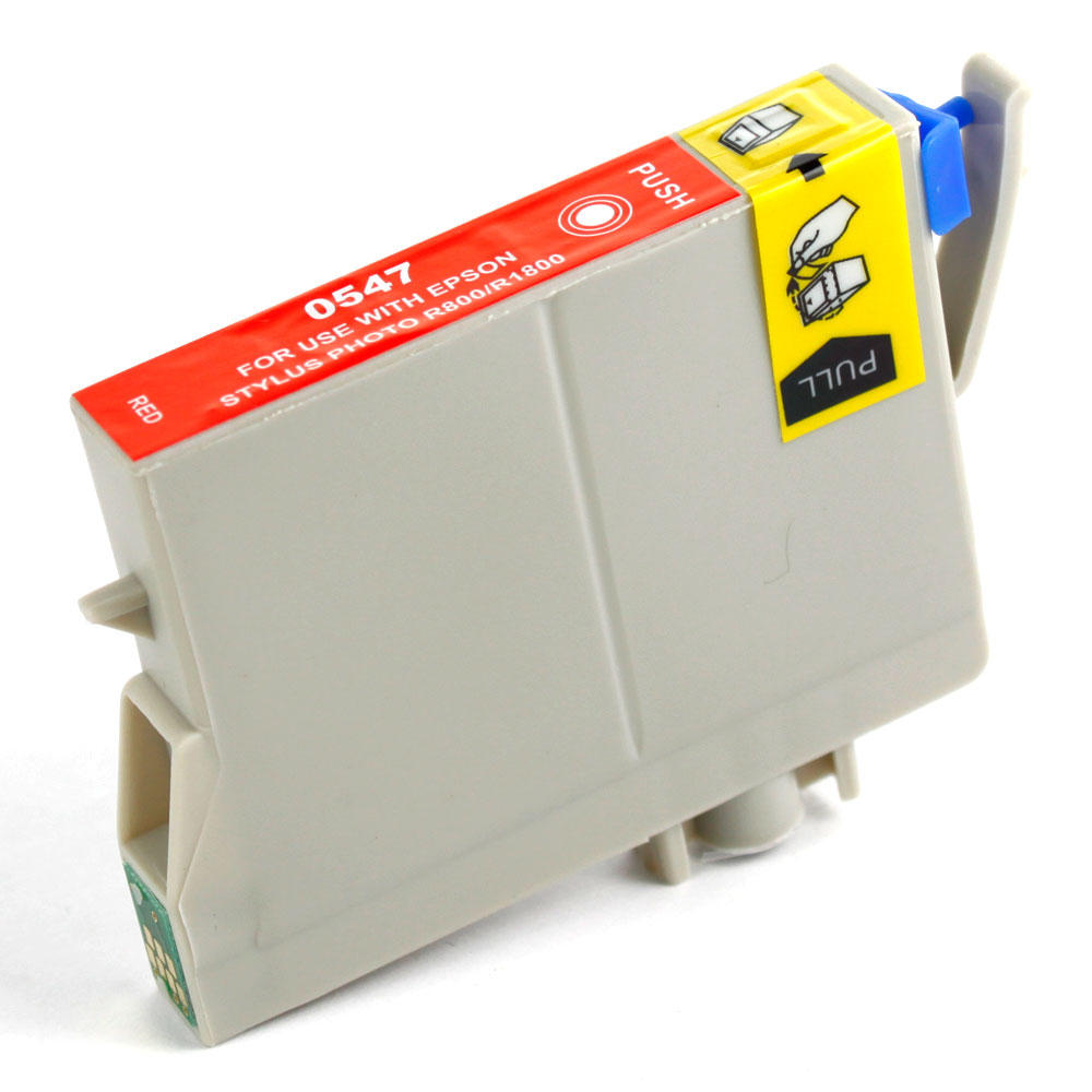 Epson T054720 New Compatible Red Ink Cartridge