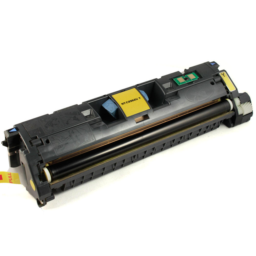 HP C9702A Remanufactured Yellow  Toner Cartridge (compatible with Q3962A)