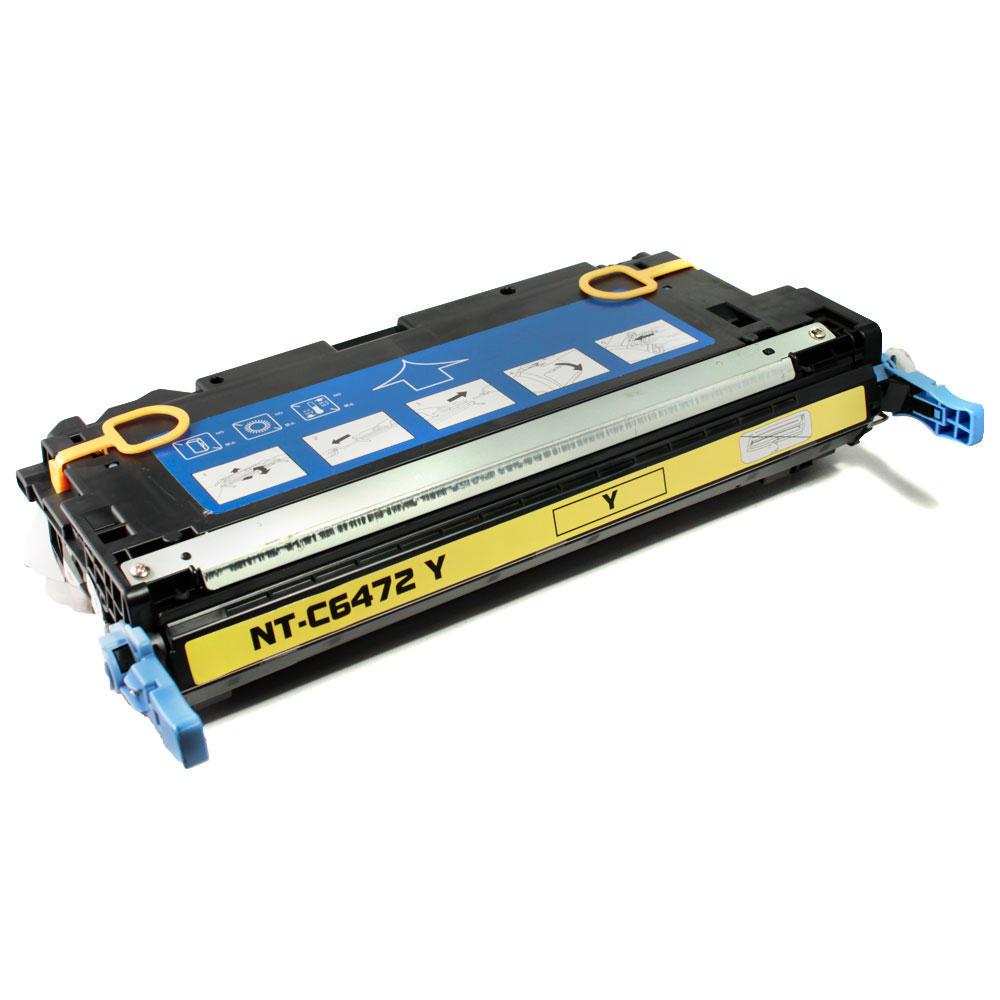 HP 502A Q6472A Remanufactured Yellow Toner Cartridge