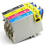 Epson T044 New Compatible Ink Cartridges Value Pack (T0441/T0442/T0443/T0444)