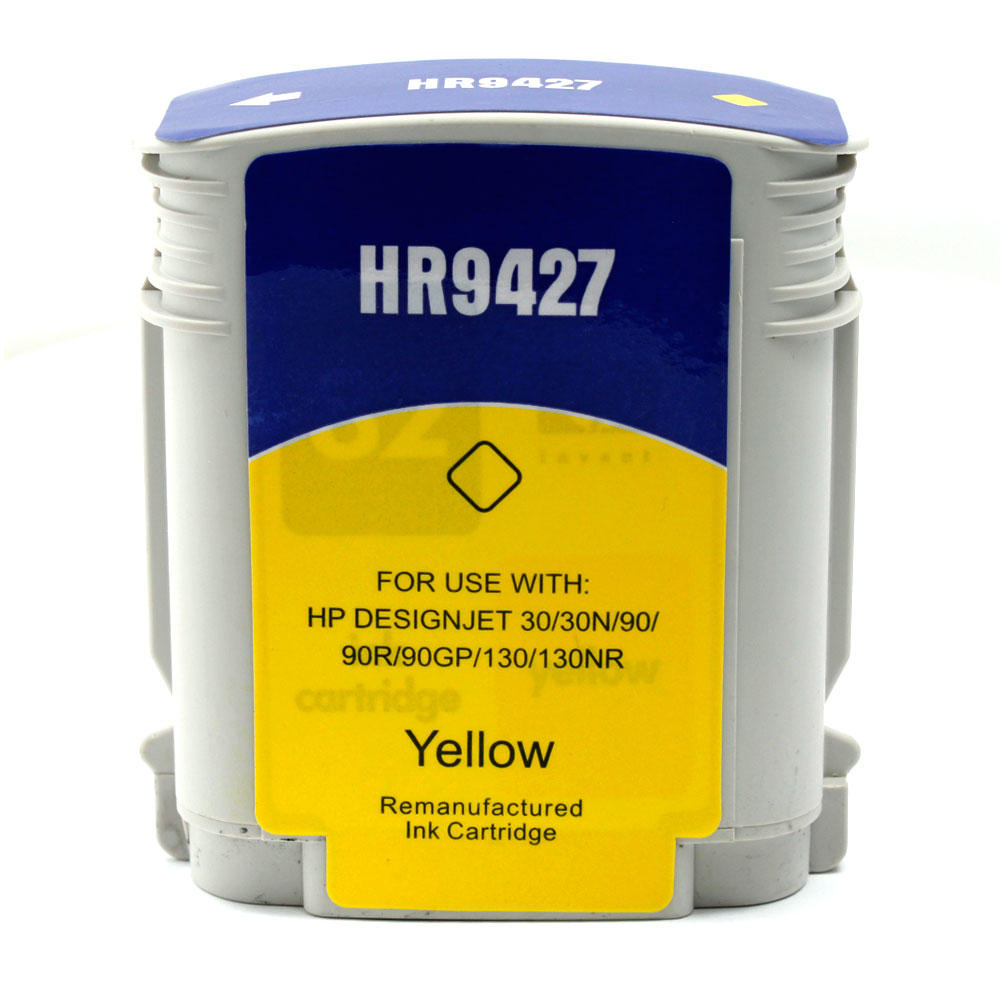 HP 85 Remanufactured Yellow Ink Cartridge (C9427A)