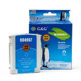 Remanufactured HP 940XL C4907AN C4903AN Cyan Ink Cartridge High Yield - G&G™