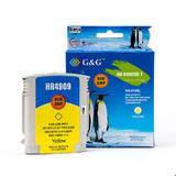 HP 940XL Remanufactured Yellow Ink Cartridge (C4909AN/C4905AN) With Chip (High Yield) - G&G™