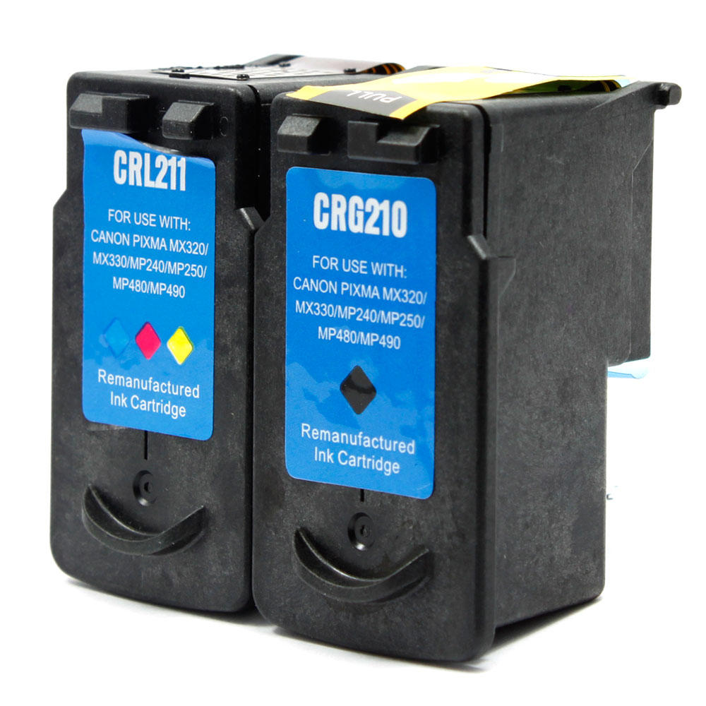 Canon PG-210/CL-211 Remanufactured Ink Cartridge Combo Set PG210 CL211 R Combo
