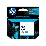 HP 75 Original Color Ink Cartridge (CB337WN)