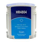HP 12 Remanufactured Cyan Ink Cartridge (C4804A)