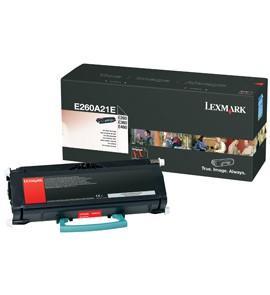 Lexmark E260A21A Original Black Toner Cartridge