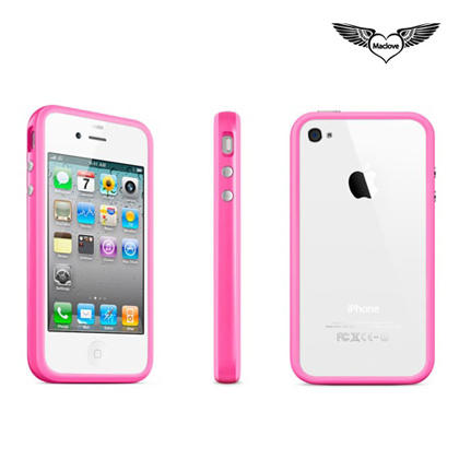 Maclove Cilla Case for iPhone 4/4S, 5 Colors Available