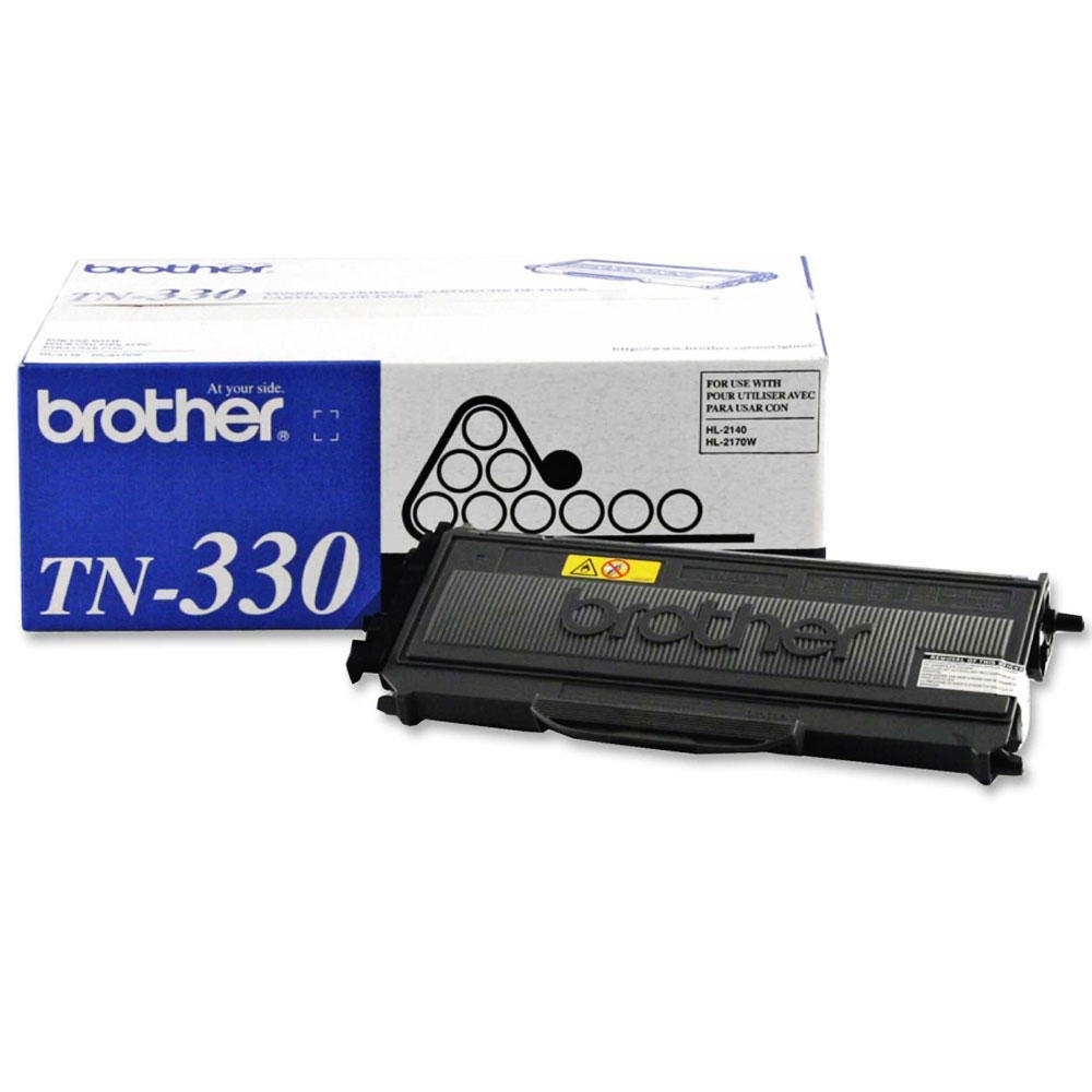 Brother TN330 Original Black Toner Cartridge