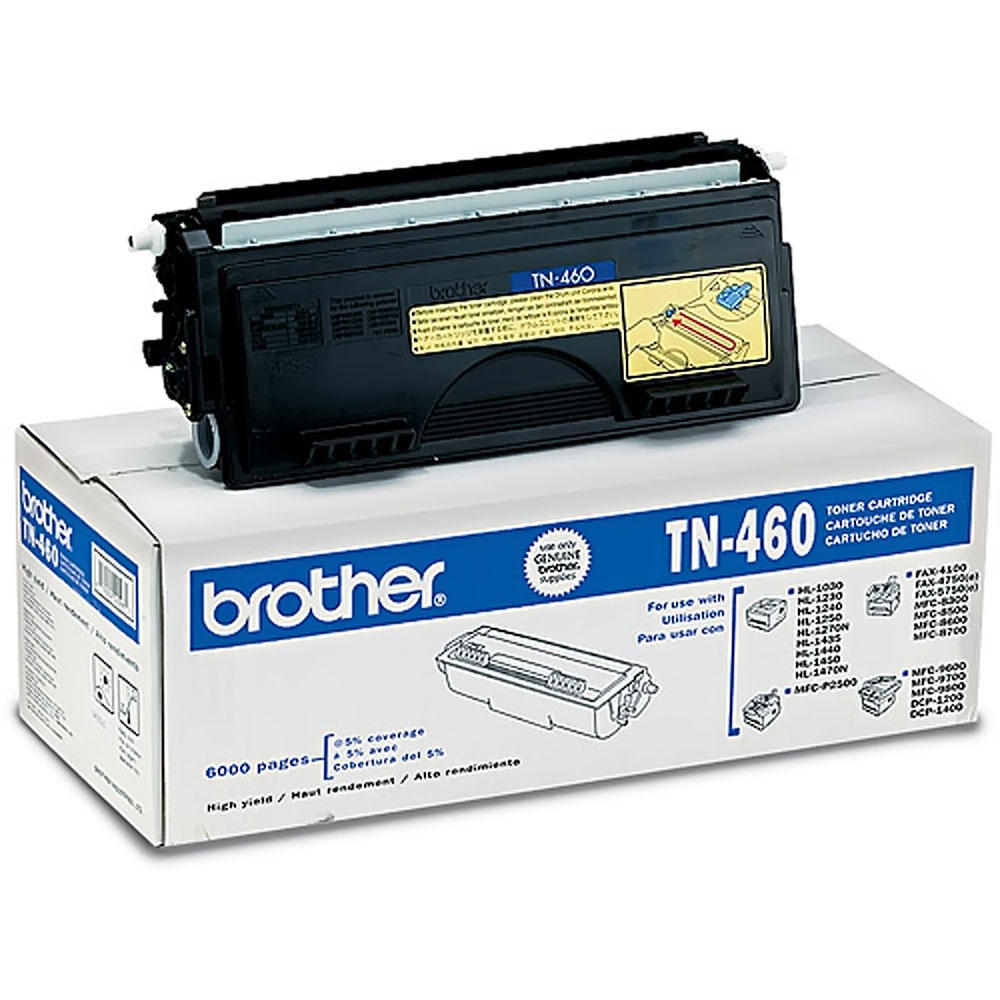 Brother TN460 Original Black Toner Cartridge