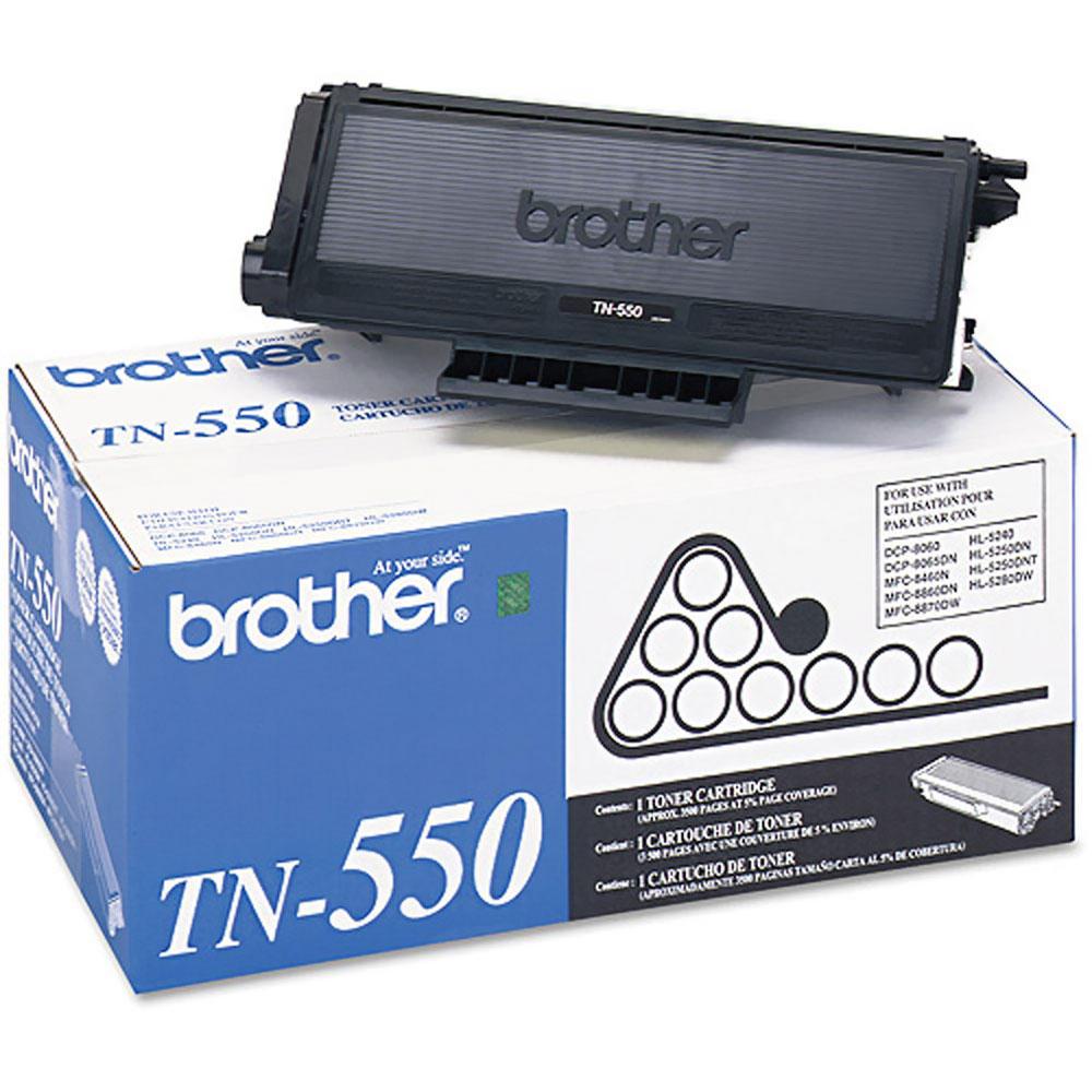 Brother TN550 Original Black Toner Cartridge