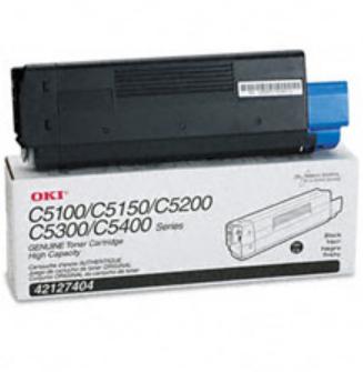 Okidata 42127404 Original Black Toner Cartridge