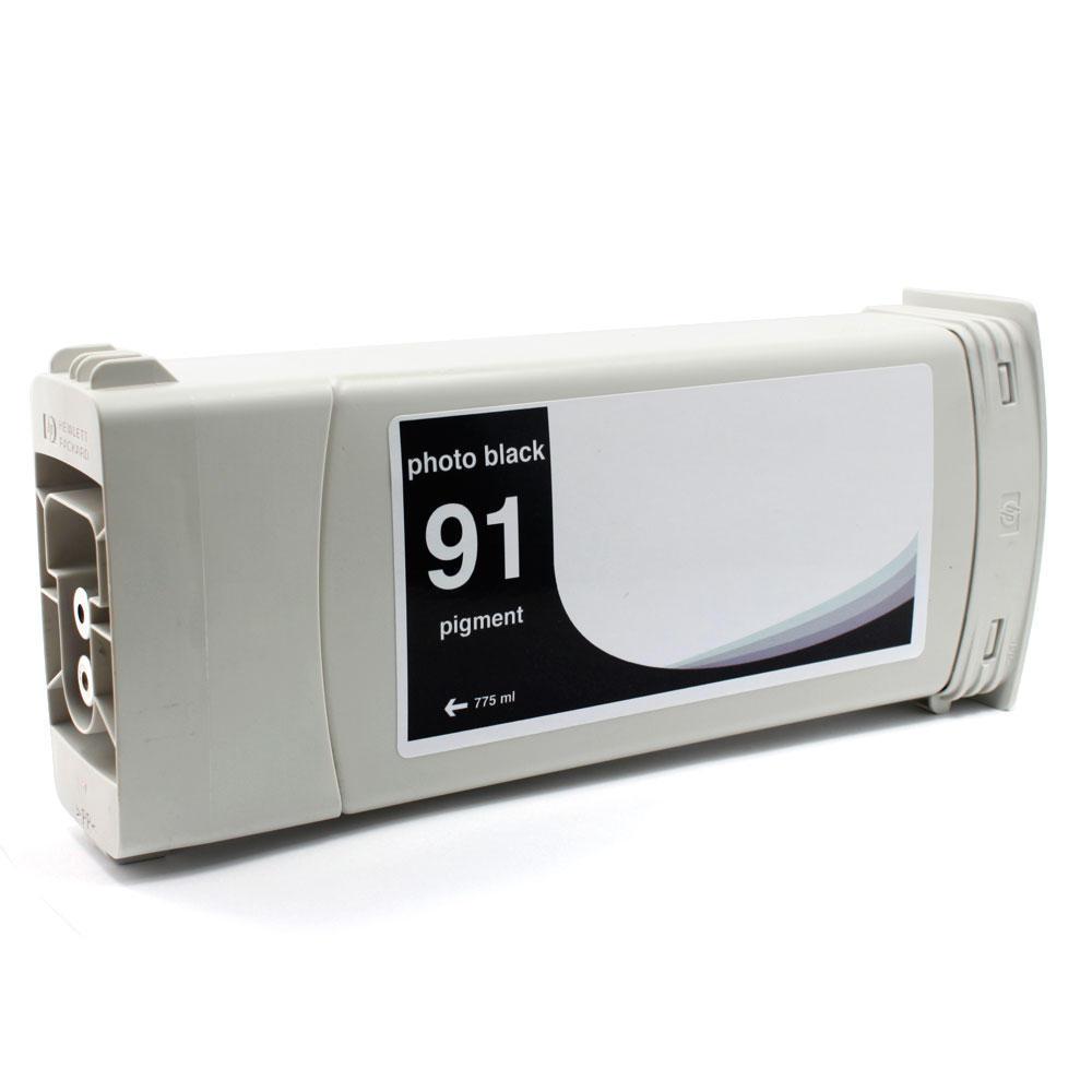 HP 91 Remanufactured Photo Black Pigment Ink Cartridge C9465